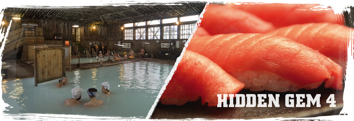 Hotspring and food