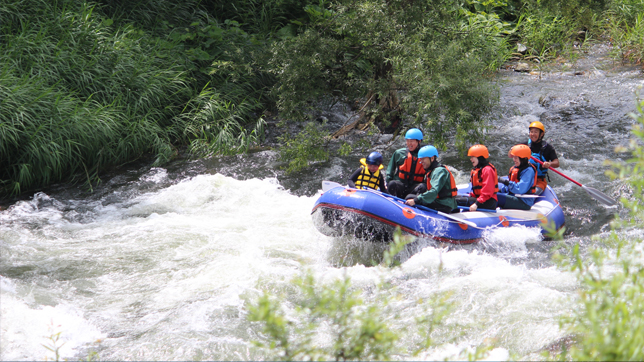 Rafting In Shirakami Sanchi