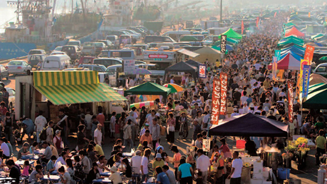 Tatehana Wharf Morning Market